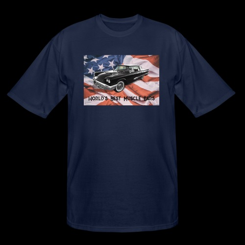 World's Best Muscle Cars - Men's Tall T-Shirt