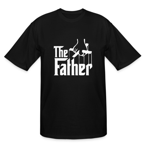 Thefather shirt - Men's Tall T-Shirt
