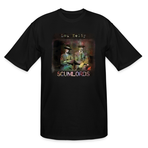Lou Kelly - Scumlords Album Cover - Men's Tall T-Shirt