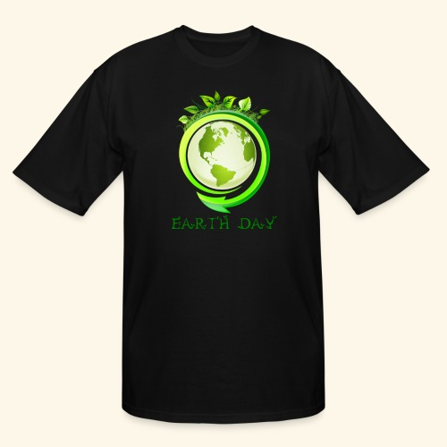 Happy Earth day - 2 - Men's Tall T-Shirt