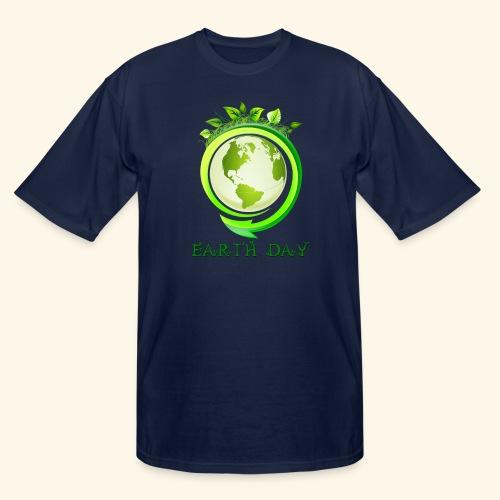 Happy Earth day - 2 - Men's Tall T-Shirt