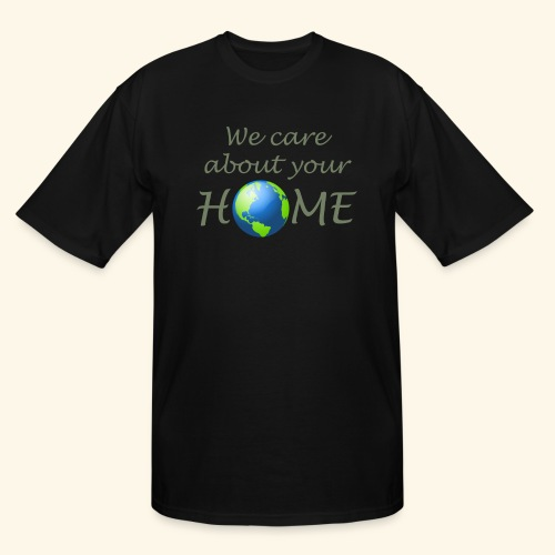 Happy Earth day - Men's Tall T-Shirt
