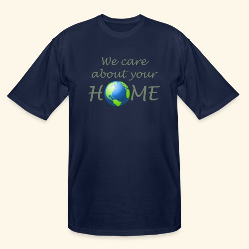 Happy Earth day - Men's Tall T-Shirt