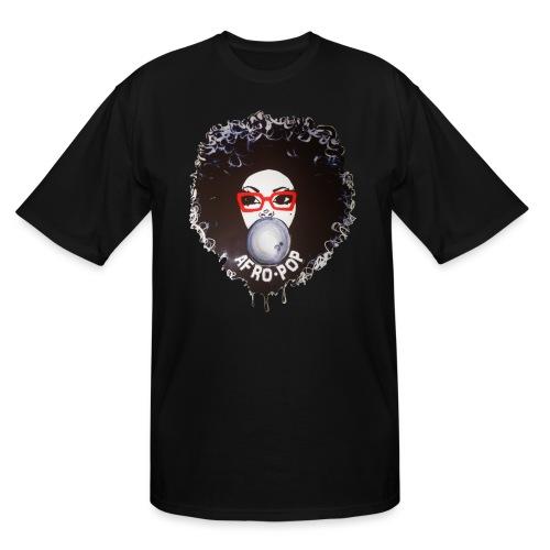 Afro pop_ - Men's Tall T-Shirt