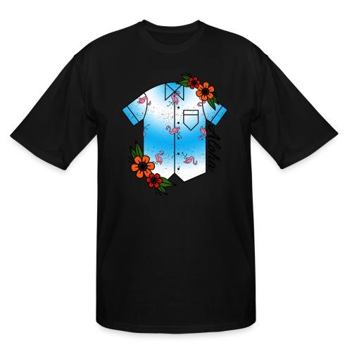 Aloha Hawaiian Shirt - Men's Tall T-Shirt