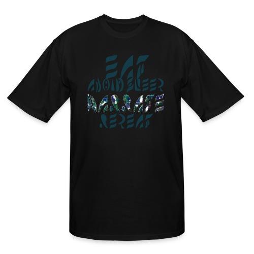Eat Sleep Narrate Repeat - Men's Tall T-Shirt