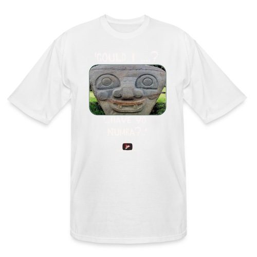 Alien Could I have your Number - Men's Tall T-Shirt