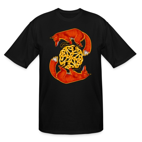 Circling Foxes - Men's Tall T-Shirt