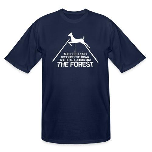 Deer's forest white - Men's Tall T-Shirt