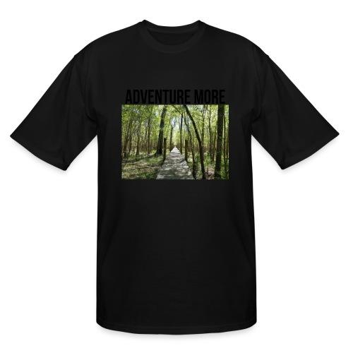 adventure more - Men's Tall T-Shirt