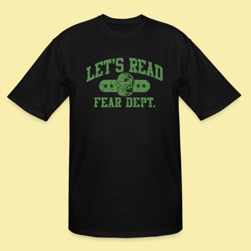 Athletic - Fear Dept. - Men's Tall T-Shirt