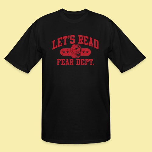 Athletic - Fear Dept. - RED - Men's Tall T-Shirt