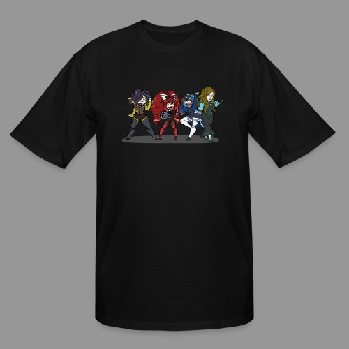 Chibi Autoscorers - Men's Tall T-Shirt