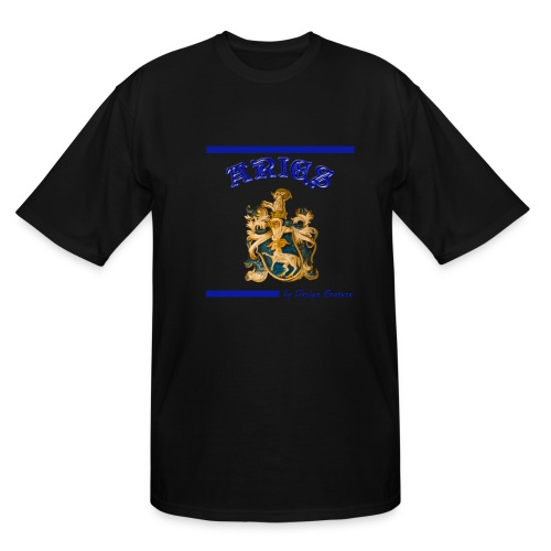 ARIES BLUE - Men's Tall T-Shirt
