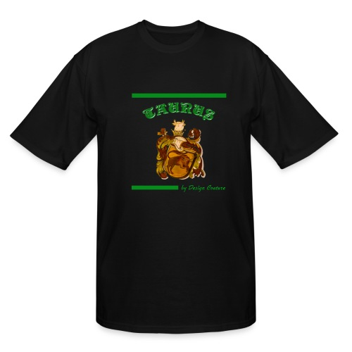 TAURUS GREEN - Men's Tall T-Shirt