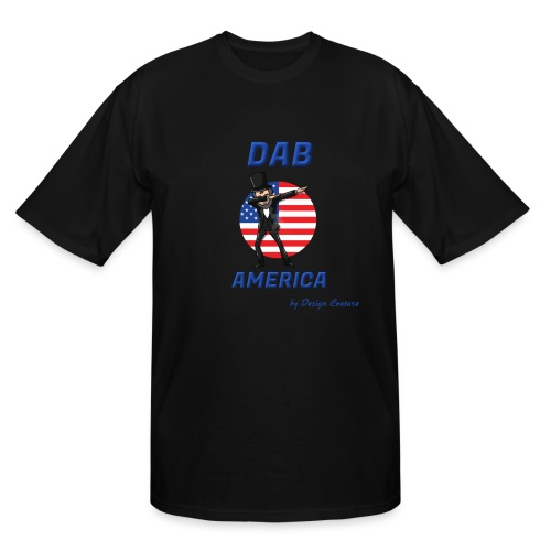 DAB AMERICA BLUE - Men's Tall T-Shirt