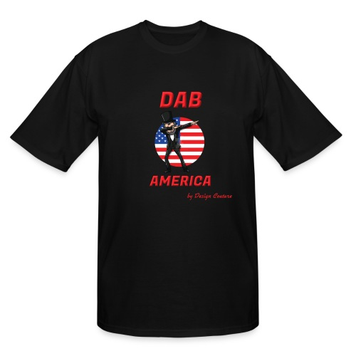 DAB AMERICA RED - Men's Tall T-Shirt