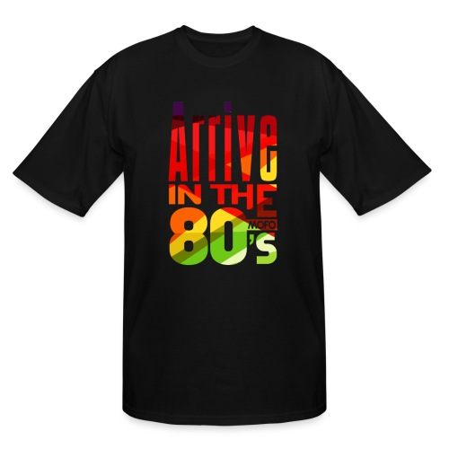 Funk Nation Arrive in the 80s - Men's Tall T-Shirt