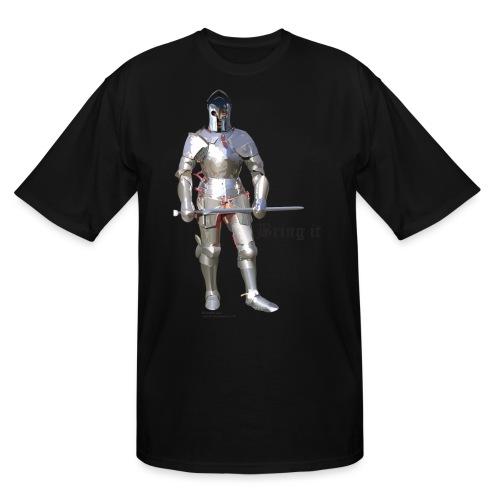 Plate Armor Bring it men's standard T - Men's Tall T-Shirt