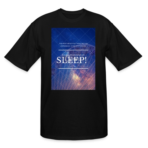 Sleep Galaxy by @lovesaccessories - Men's Tall T-Shirt
