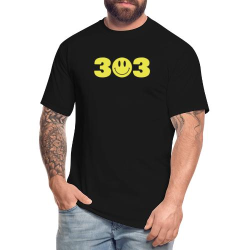 3 Smiley 3 - Men's Tall T-Shirt