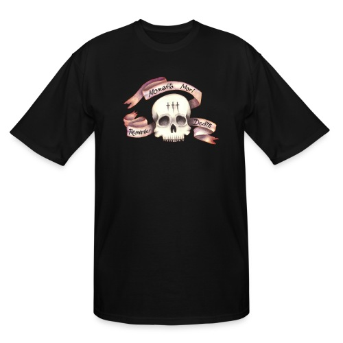 Momento Mori - Remember Death - Men's Tall T-Shirt