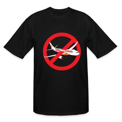 Flight shame - Flygskam - Men's Tall T-Shirt