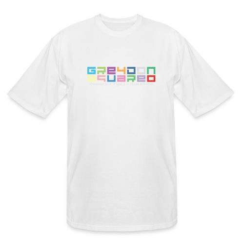 colorfulLOGO2 png - Men's Tall T-Shirt