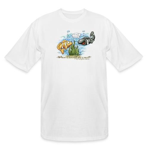 when clownfishes meet - Men's Tall T-Shirt
