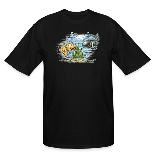 when clownfishes meet - Men's Tall T-Shirt