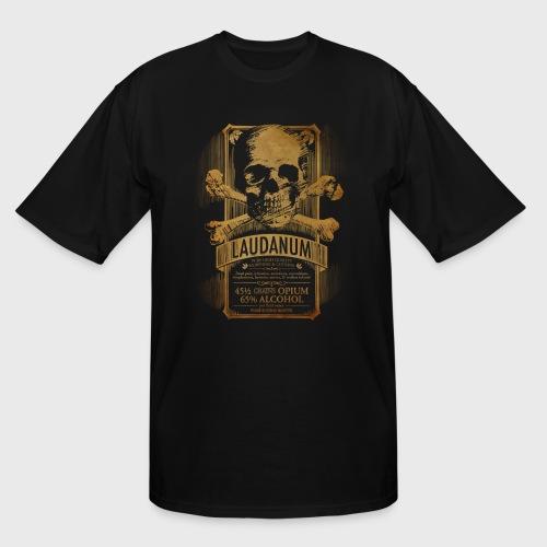 Laudanum Goth Steampunk Medical Doctor - Men's Tall T-Shirt
