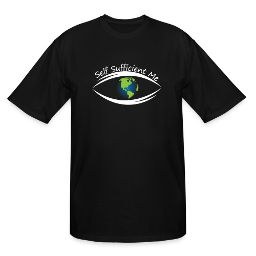 Self Sufficient Me Logo Large - Men's Tall T-Shirt