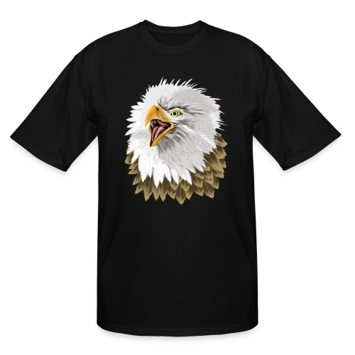 Big, Bold Eagle - Men's Tall T-Shirt