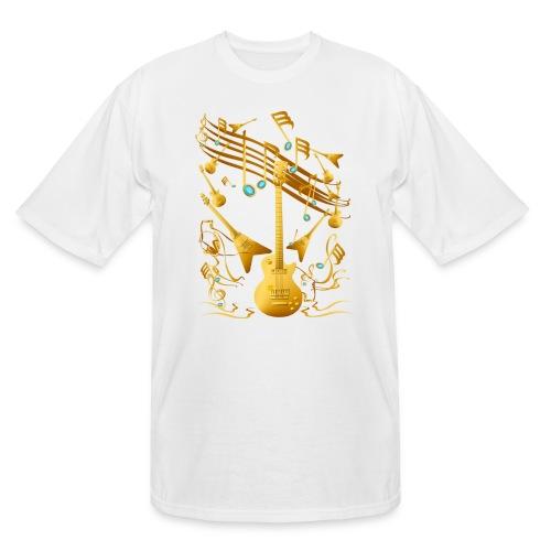 Gold Guitar Party - Men's Tall T-Shirt