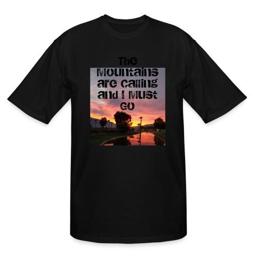 mountains - Men's Tall T-Shirt