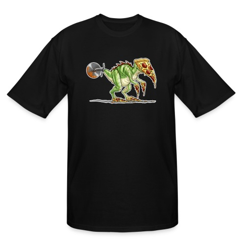 pizzasaurus - Men's Tall T-Shirt