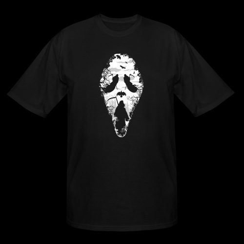 Reaper Screams | Scary Halloween - Men's Tall T-Shirt