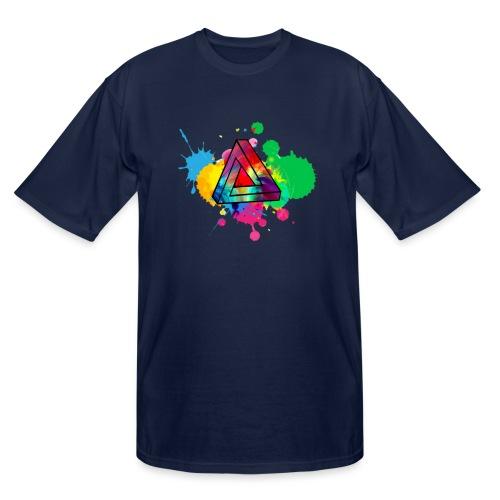 PAINT SPLASH - Men's Tall T-Shirt