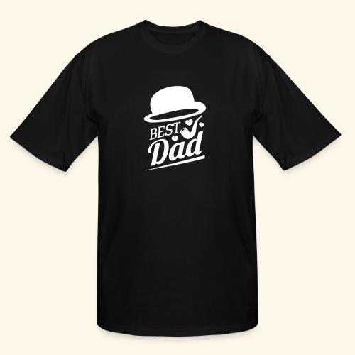 BEST DAD - Men's Tall T-Shirt