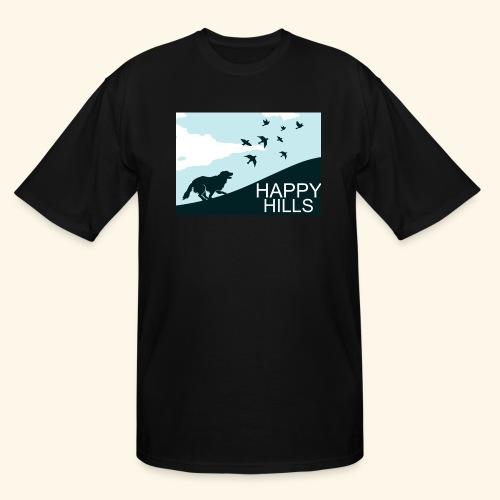 Happy hills - Men's Tall T-Shirt