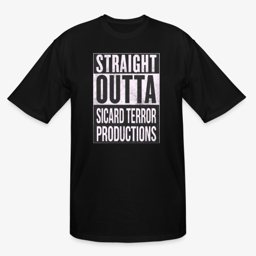 Strait Out Of Sicard Terror Productions - Men's Tall T-Shirt