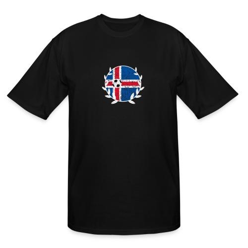 Iceland Football logo - Men's Tall T-Shirt