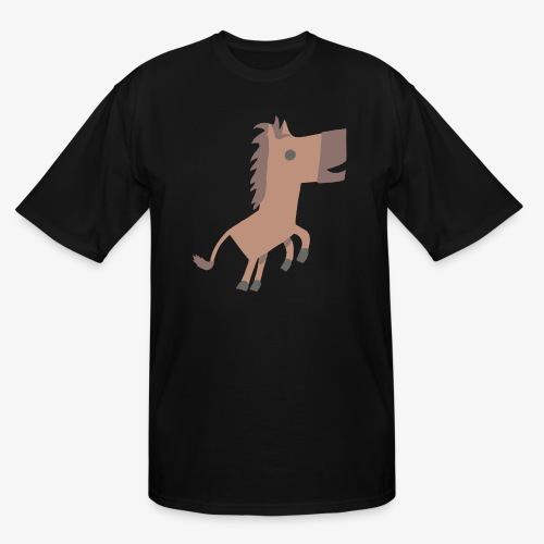 Horse - Men's Tall T-Shirt