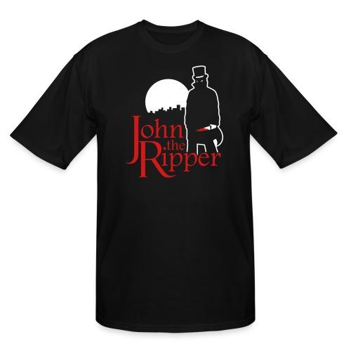 Evil John The Ripper Dark background - Men's Tall T-Shirt