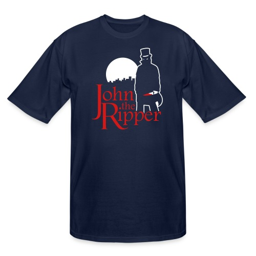 Evil John The Ripper Dark background - Men's Tall T-Shirt