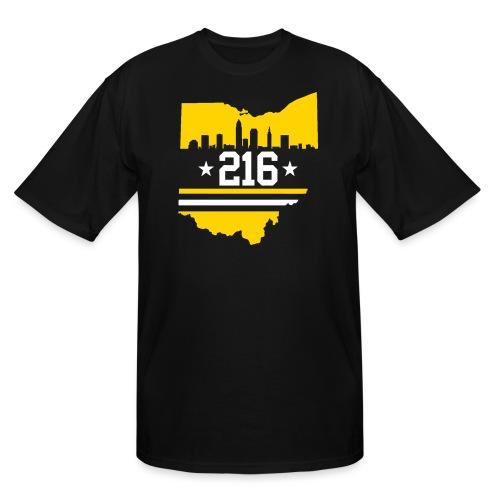 Cleveland 216 - Men's Tall T-Shirt