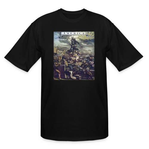 This Is America - Men's Tall T-Shirt