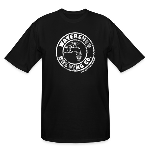 Watershed Faded White - Men's Tall T-Shirt