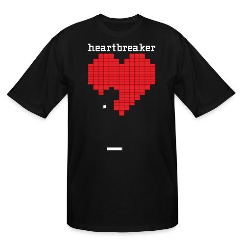 Heartbreaker Valentine's Day Game Valentine Heart - Men's Tall T-Shirt