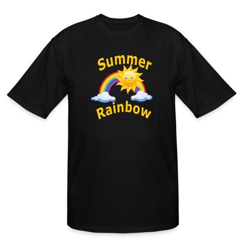 Summer Rainbow - Men's Tall T-Shirt